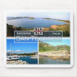 IT Italy - Sardegna - San Teodoro - Mouse Pad