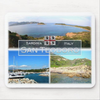 IT Italy - Sardinia - San Teodoro - Mouse Pad