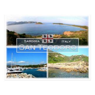 IT Italy - Sardinia - San Teodoro - Postcard