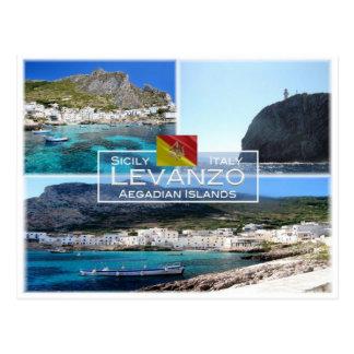 IT Italy - Sicily - Levanzo Island - Postcard