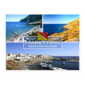 IT Italy - Sicily - Marettimo Island - Aegadian  - Postcard