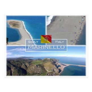 IT Italy - Sicily - Marinello Nature Reserve - Postcard