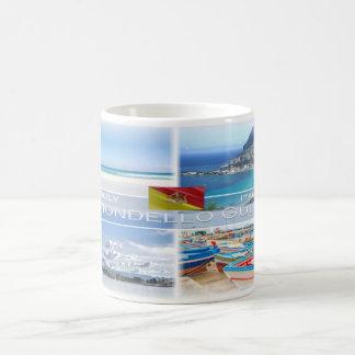IT Italy -  Sicily - Mondello Gulf - Coffee Mug