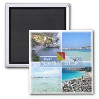 IT Italy # Sicily - San Vito Lo Capo - Magnet