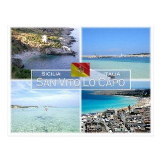 IT Italy - Sicily - San Vito Lo Capo  - Postcard