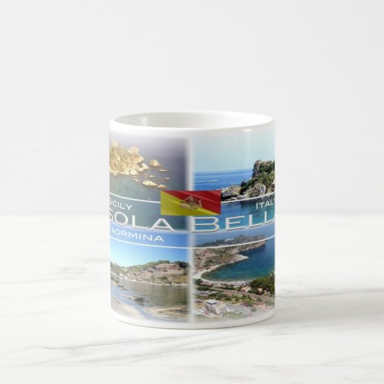 IT Italy - Sicily - Taormina - Isola Bella - Coffee Mug