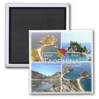 IT Italy # - Sicily - Taormina - Isola Bella - Magnet
