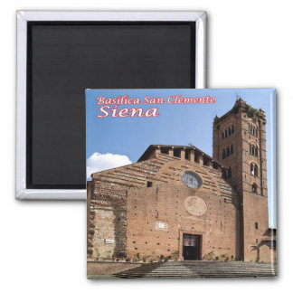 IT - Italy - Siena - Basilica San Clemente Magnet