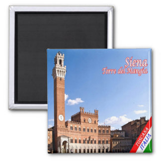 IT-Italy-Siena-Palazzo with the Torre del Mangia Magnet