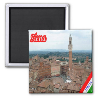 IT - Italy - Siena - Panorama Magnet