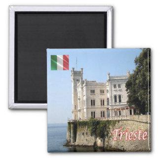 IT - Italy - Trieste - Miramare Castle Magnet