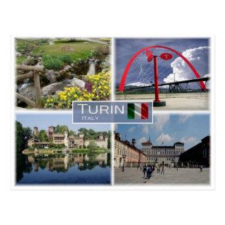 IT Italy - Turin  Torino - Piedmont - Postcard