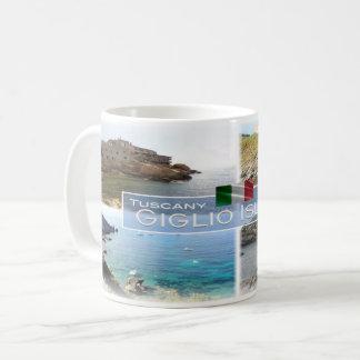 IT Italy - Tuscany - Giglio Island - Coffee Mug