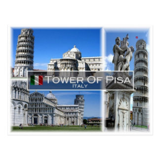 IT Italy - Tuscany - The Leaning Tower Of Pisa - Postcard