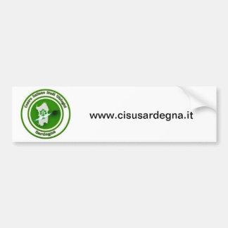 It logo LED CISU SARDEGNA Bumper Sticker