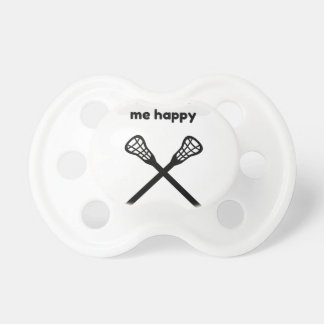 It Makes Makes Me Happy-Lacrosse Baby Pacifiers