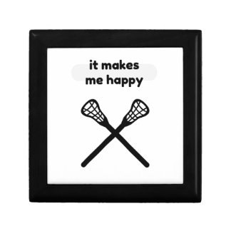 It Makes Makes Me Happy-Lacrosse Jewelry Boxes