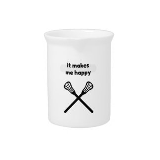 It Makes Makes Me Happy-Lacrosse Pitcher