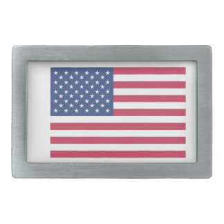 It Makes Me happy- American flag Rectangular Belt Buckles