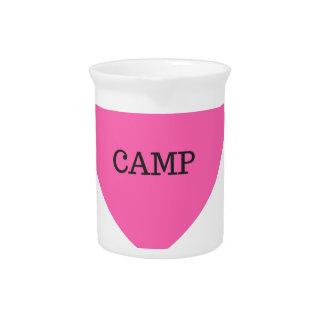It Makes Me Happy- Camp Beverage Pitcher