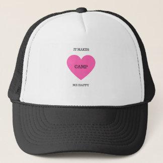 It Makes Me Happy- Camp Trucker Hat
