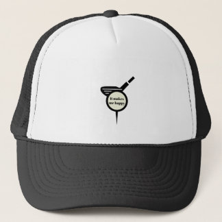 It Makes Me Happy-Golf Mug Trucker Hat