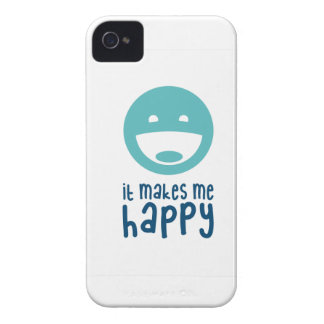 It Makes Me Happy iPhone 4 Case-Mate Cases