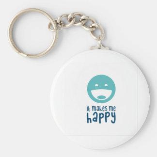 It Makes Me Happy Keychain