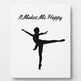 It Makes Me Happy Plaque