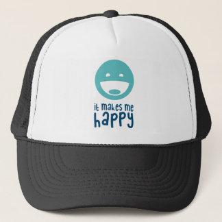 It Makes Me Happy Trucker Hat