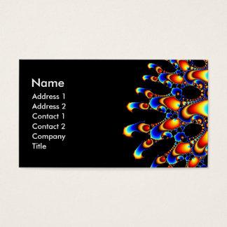 It - Mandelbrot Fractal Art Business Card