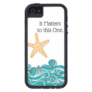 It Matters to This One Starfish iPhone 5 Case