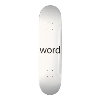 it means cool, a.k.a. word up.ai custom skate board