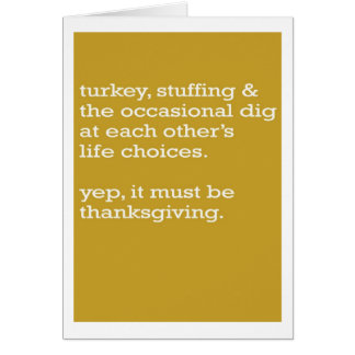 It must be thanksgiving card