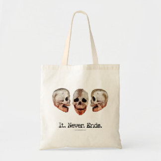 It Never Ends Tote Bag