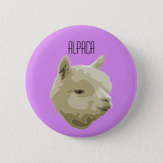 It plates Alpaca 2 Inch Round Button