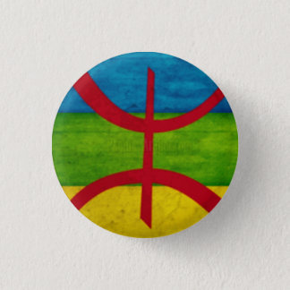 It plates Amazigh 1 Inch Round Button