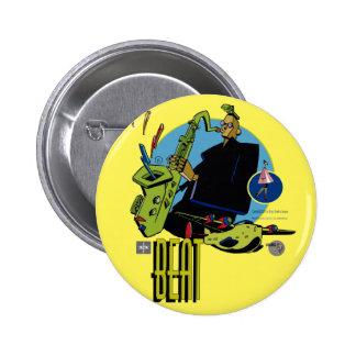 It plates Beat- Sketcher 2 Inch Round Button