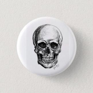 It plates Skull 1 Inch Round Button