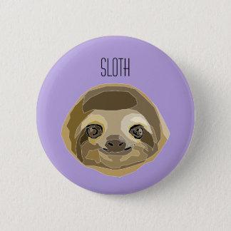 It plates Sluggish - Sloth 2 Inch Round Button