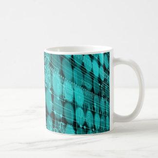 IT programmer high tech computer circuit board Coffee Mug