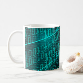 IT programming  computer binary code programmer Coffee Mug