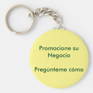 It promotes its business keychain