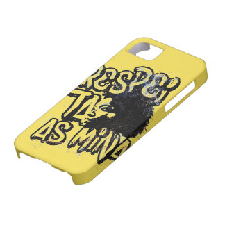 It respects the Mine iPhone 5 Case