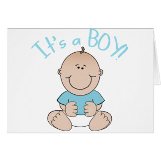 It s a Baby Boy Greeting Card