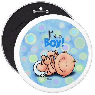 It s a Baby Boy Pin