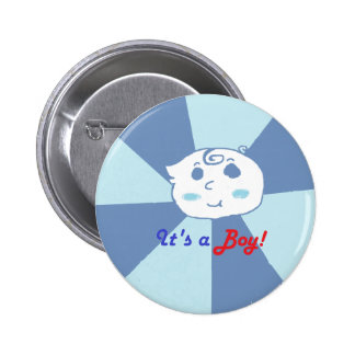 It s a Baby Boy Pinback Button