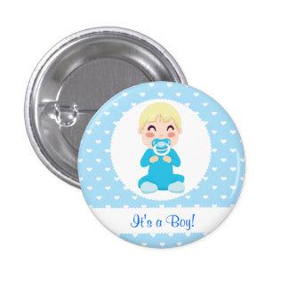 It s a Boy Baby Boy Design Pin