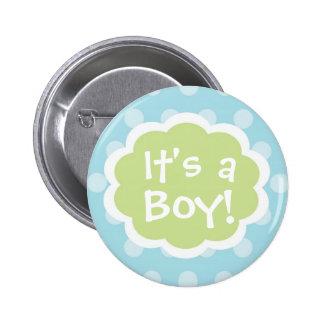 It s a Boy Baby Button