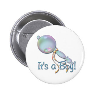 IT S A BOY BABY RATTLE by SHARON SHARPE Pin